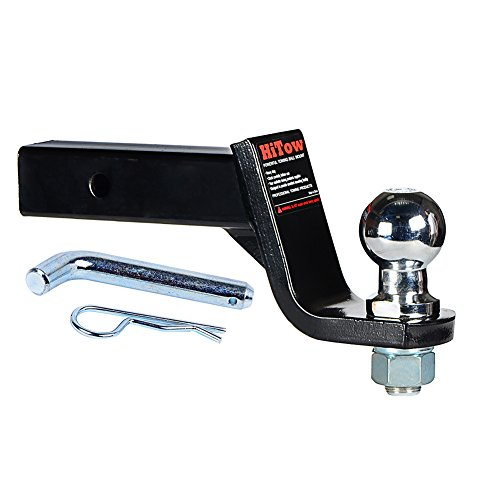HiTow Trailer Hitch Loaded Ball Mount Class II 4