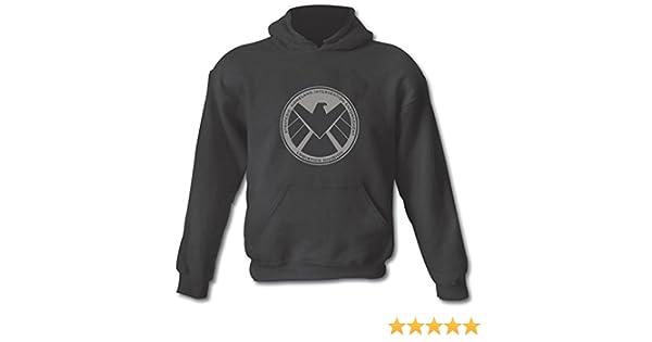 /XXL Agentes de SHIELD superh/éroe Gildan Heavy mezcla de algod/ón sudadera con capucha todos los tama/ños peque/ño/