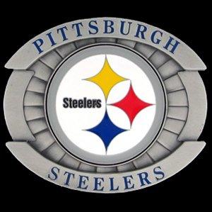 Steelers Buckle (Pittsburgh Steelers Oversized Belt Buckle)