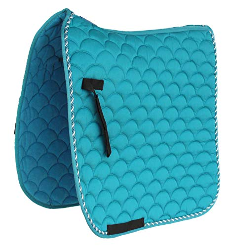 Professional Equine Horse Quilted English Saddle PAD Trail Dressage 7295TL