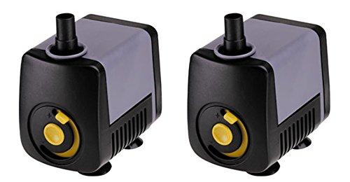 (2) Supreme Pondmaster Magnetic Drive 65 GPH Pond Mini Statuary Pumps – 02510