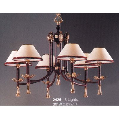 Classic Lighting 2426 Marbella, Traditional, Chandelier, 3 3 21.5
