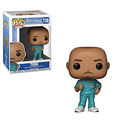 Funko Pop TV: Scrubs- Turk Toy, Multicolor: Toys & Games