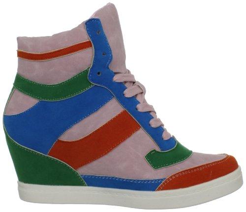 Nyla Womens Penthea Fashion Sneaker Rosa / Multi