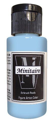 (Badger Air-Brush Company 2-Ounce Bottle Miniature Airbrush Ready Water Based Acrylic Paint, Sky Blue)