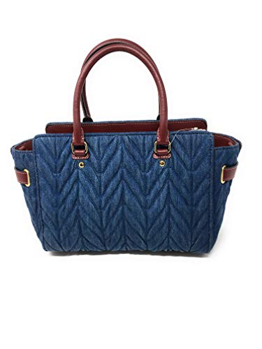 COACH F39905 BLAKE CARRYALL 25 WITH QUILTING DENIM by Coach (Image #2)