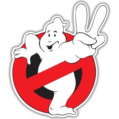 Ghostbusters Ghost busters Vynil Car Sticker Decal - Select Size (Ghost Busters 12 Inch)