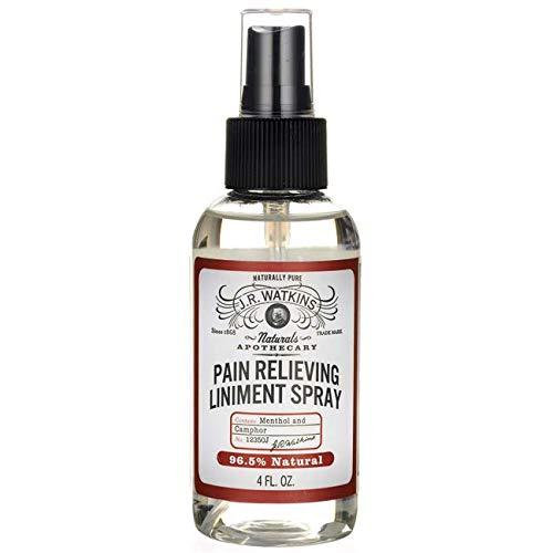 (J.R. Watkins Natural Pain Relieving Liniment Spray, 4 Fluid)