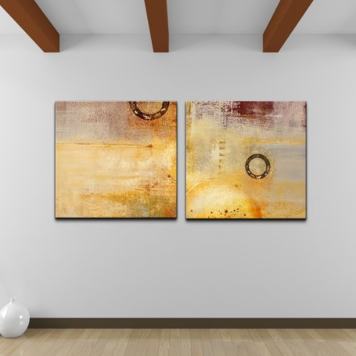 Ready2HangArt 'Abstract Spa' 2-piece Gallery-wrapped Canv...