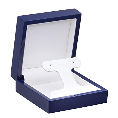 Allure Imperial French Clip Earring Box, Blue