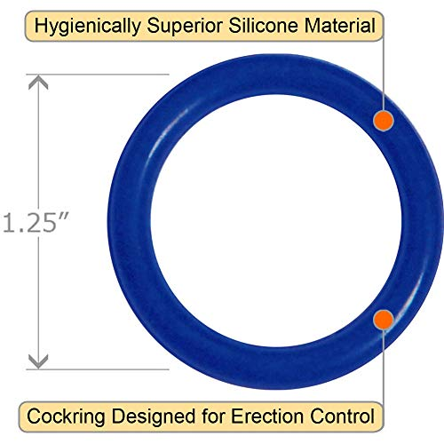 OptiSex Super Silicone Cockrings - 3 Ring Set ASSORTED COLORS