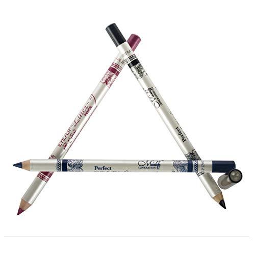 CINEEN 12 Colours Long Lenght Eye Liner Lip Liner Pencil Waterproof Eyebrow Cosmetic Pen Coloring Set Makeup Kit