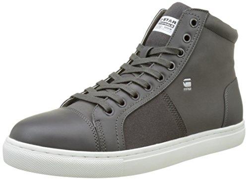G-Star Raw Mens Toublo Mid Sneaker Toublo Mid Sneaker Gs Grey