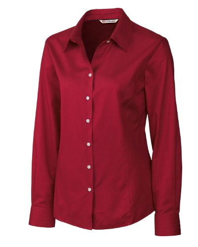 Cutter and Buck DryTec Championship Golf Polo 2016 Womens Cardinal Red X-Large Womens Drytec Championship Polo