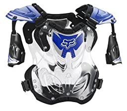 Fox Racing Mens R3 Roost Deflector Blue Medium M FOX 06093-002-M