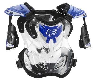 Fox Racing Youth R3 Roost Deflector Blue Small S FOX 06095-002-S