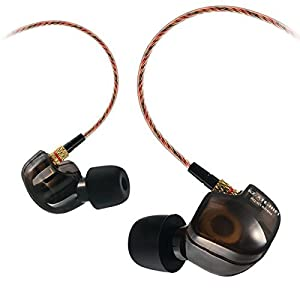 Kz ATE Copper Driver Ear Hook HiFi in Ear Earphone Sport Headphones for Running with Foam Eartips with Microphone
