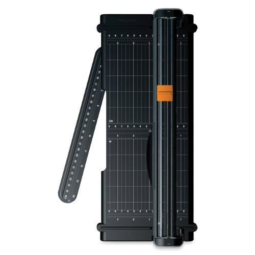 Fiskars 12 Inch Recycled SureCut Trimmer  (01-005454) One Paper Cutter