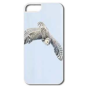Snowy Owl IPhone 5 5s Case Cover,Custom Make Keep Calm Shell For IPhone 5 5s