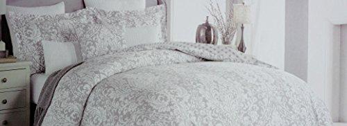 Tahari Bedding 3 Piece Full / Queen Duvet Cover Set Cream...
