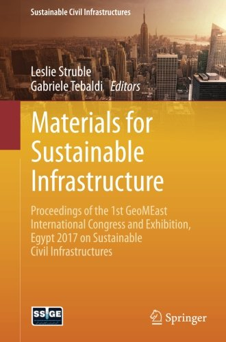 Materials for Sustainable Infrastructure: Proceedings of the 1st GeoMEast International Congress and Exhibition, Egypt 2017 on Sustainable Civil Infrastructures
