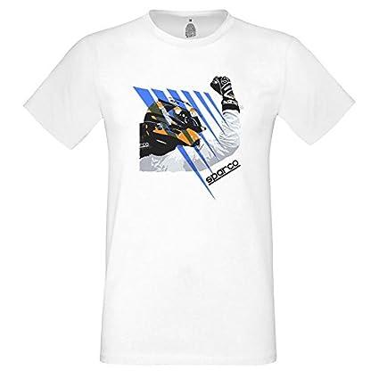 Blanco M Sparco S01215BI2M Camiseta