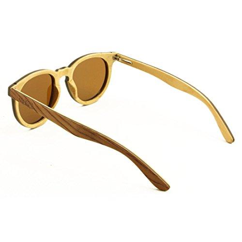Gafas Madera Pear Sol Marrón De Brown Oliver Polarizado Humo RawWood qEw5Px
