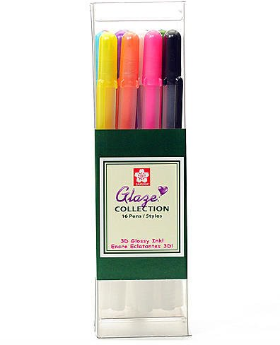Sakura Gelly Roll Glaze Pens (Assorted) - Set of 16 1 pcs sku# 1832388MA