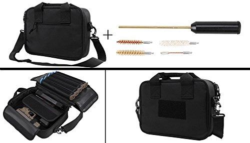 Taurus 9mm .357, 38, .40, .45 Handgun Revolver Case Bag Hold