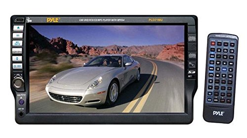 Pyle PLD71MU 7-Inch TFT Touchscreen DVD/VCD/CD/MP3/CD-R/USB/AM/FM/RDS Receiver (Bentley Clock)
