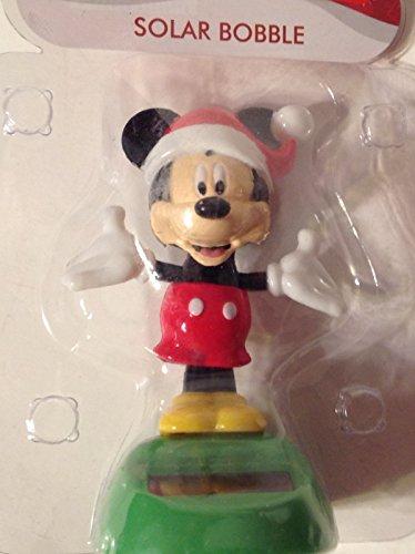 Christmas Mickey Solar Character, Mickey Dancer Bobble Head]()