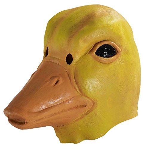 [Duck Mask Animal Bird Halloween Costumes Adult] (Duck Costumes Adult)