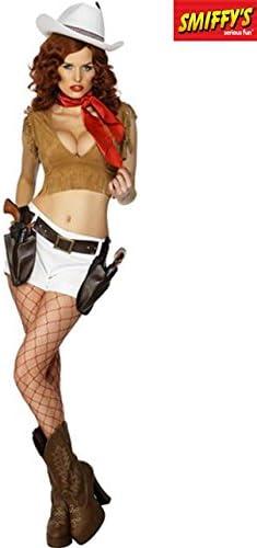 FEVER Wild West Pin-Up Costume - Ladies (disfraz): Amazon.es ...