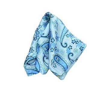 Knot n Square Handkerchief For Men Sky Blue