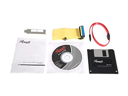 Rosewill RC-216 PCI-E eSATA II Card JMicron 64Bit