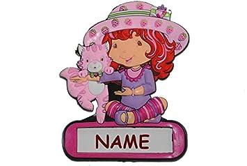 Türschild / Namensschild Emily Erdbeer - mit Namen Mädchen ...