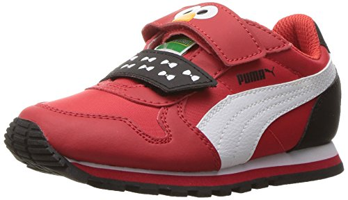 V.1 Chukka (PUMA Kids' Sesame STR ST Runner Elmo hoc V PS Chukka, High Risk Red White, 1 M US Little Kid)