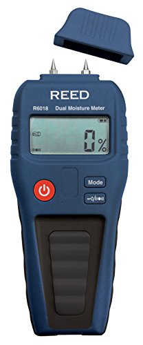 REED Instruments R6018 Dual Moisture Meter, Pin/Pinless by REED Instruments (Image #1)