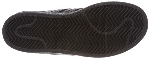 adidas Superstar C, Zapatillas de Deporte Unisex Niños Negro (Negbas/Negbas/Negbas 000)