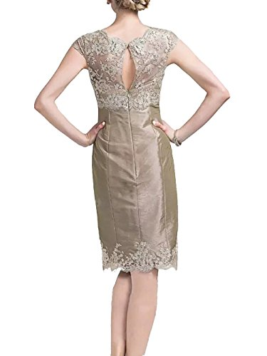 Jacket Dress with of Dressyu Satin The Evening Wine Formal Short Mother Lace Red Bride xAvPnRa