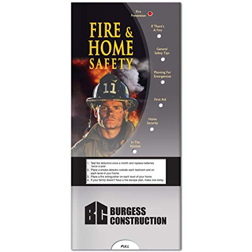 BIC Graphic Pocket Slider: Fire & Home Safety White 500 Pack