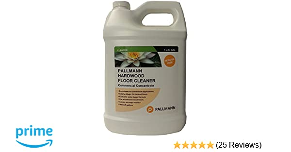 pallmann hardwood floor cleaner amazoncom pallmann hardwood floor cleaner 128 oz concentrate health personal care concentrate