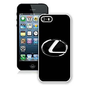 Beautiful Designed Case With Lexus logo 3 White For iPhone 5S Phone Case