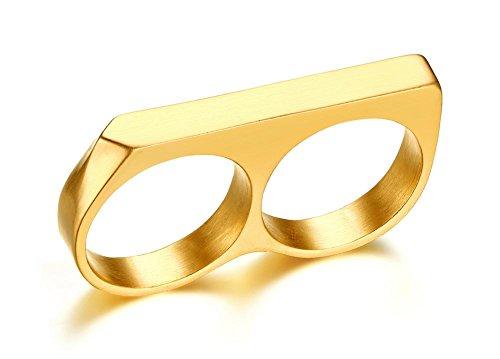 two finger ring men - 1