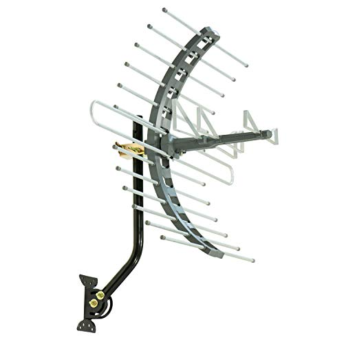 GE Pro Attic Mount TV Antenna, Outdoor, Attic, Long Range An
