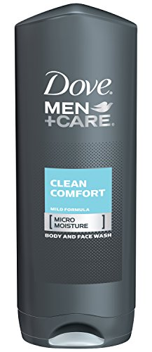 Dove Men et soins corps et visage de lavage, nettoyer confort, 18 onces (Pack de 3)