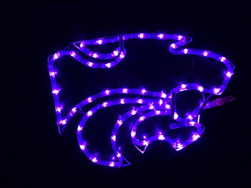 S Football Tailgating Window Bar PUB Home Car Light LED (Kansas State Wildcats Lamp)