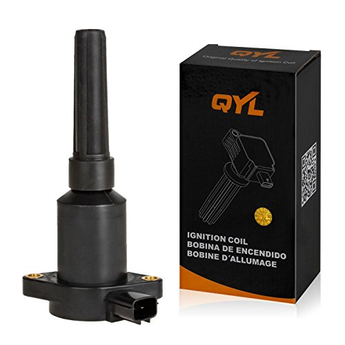 QYL Ignition coil for Jaguar Vanden Plas XJ6 XJS XJR 4.0L 6.0L I6 V12 UF384 C1203 2722885 44430036 4443006 Premium Quality 1 Yr Warranty by QYL