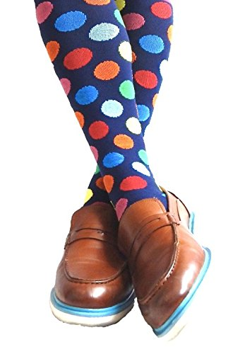 Compression Socks for Men & Women - BEST Graduated Athletic Fit for Running, Nurses, Shin Splints, Flight Travel, Maternity Pregnancy - Boost Stamina, Circulation & Recovery (Cool Dots, S/M) by Cool Sox (Image #7)