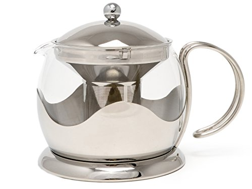 La Cafetiere Le Teapot 4-Cup Tea Infuser (Stainless Steel)